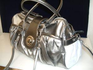 ポケットいっぱいバッグ シルバー
