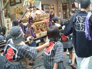 お祭り子供神輿