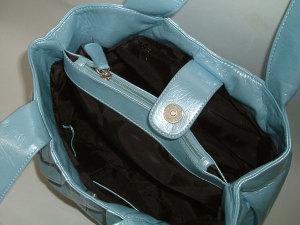 合皮エナメルミニバッグ
