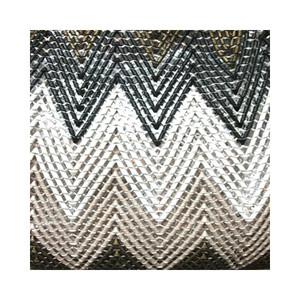 ジグザグ編みメッシュショルダー