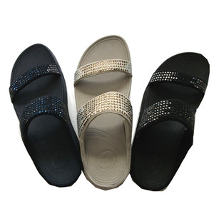 fitflop Flare Slide ラインスト―の輝きが素敵!