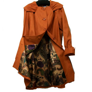 春先のコート