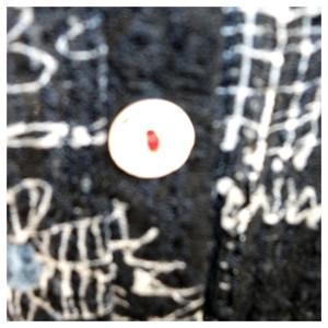 線描き花柄プリントの薄手ジャケット