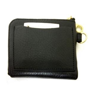 牛革L字型財布