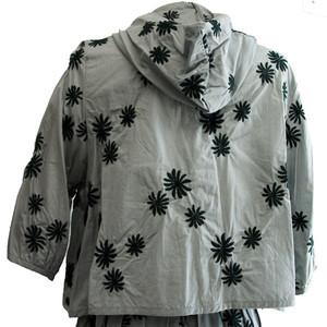 綿ローン花刺繍ツーピース
