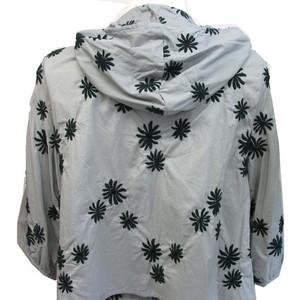 花刺繍綿ツーピース